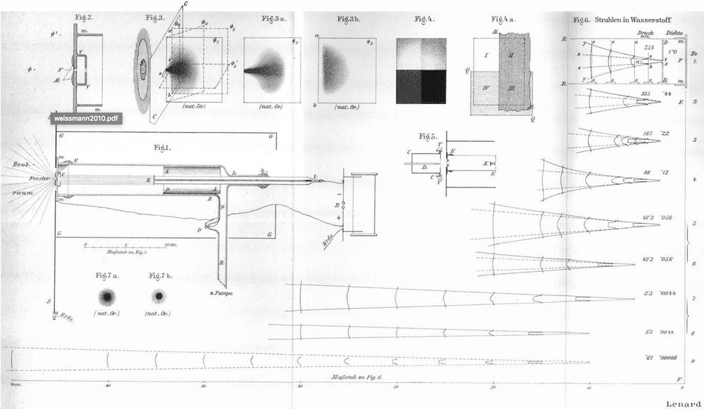 Lenard-style tube (1894)