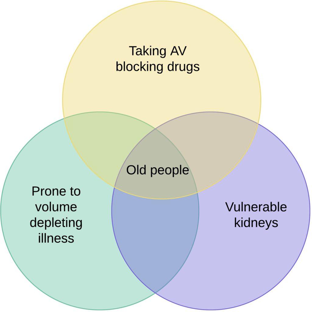 BRASH syndrome risk populations
