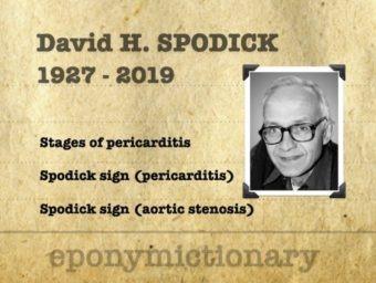 David H. Spodick (1927 – 2019) 340