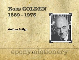Ross Golden (1889 - 1975) 340