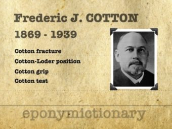 Frederic Jay Cotton (1869 - 1939) 340 2