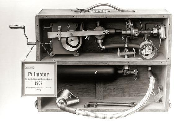 Pulmotor Drӓgerwerk 1907