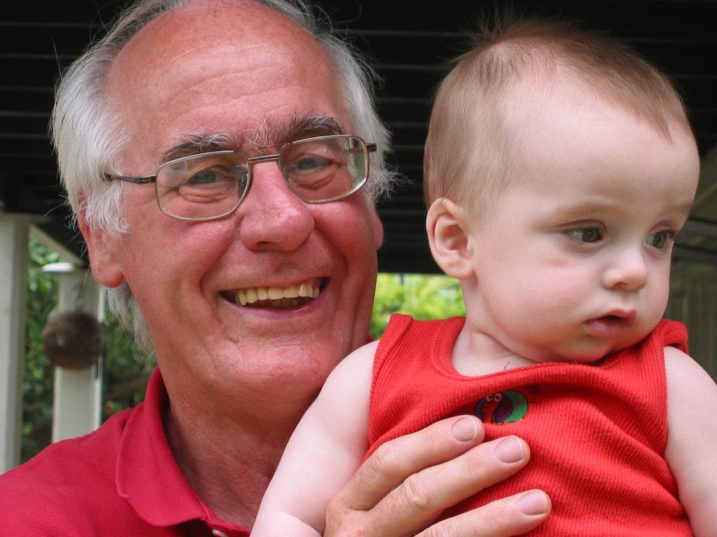 David Cadogan with Hamish 2003