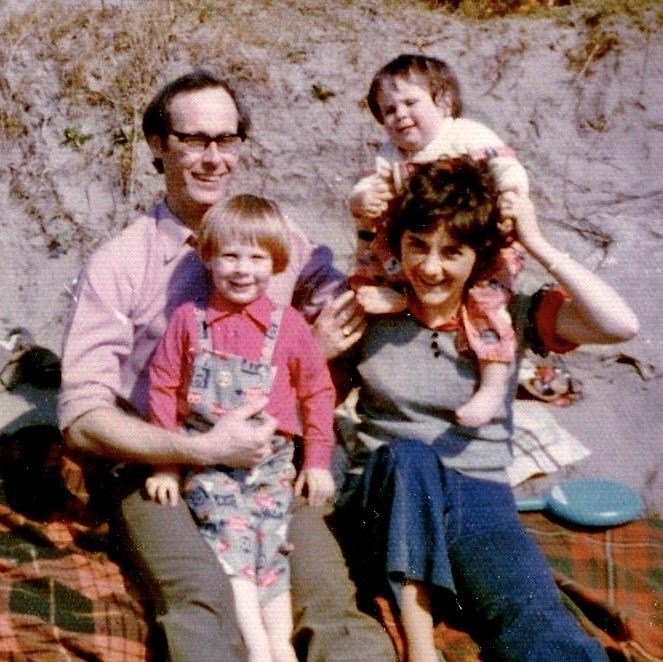David, Marion, Michael and Ann Cadogan 1975