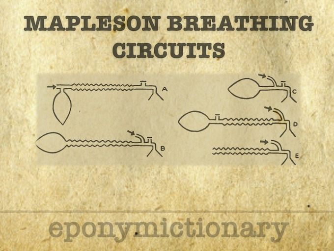 Mapleson Breathing Circuits 680