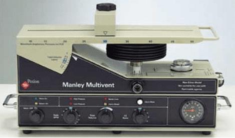 Penlon Manley Multivent ventilator