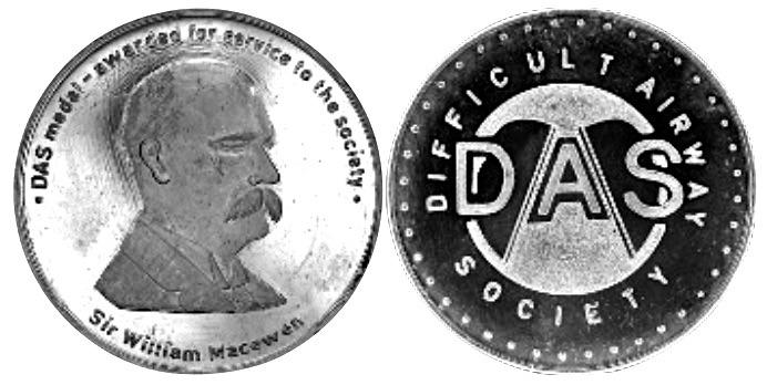 Difficult Airway Society (DAS) Medal