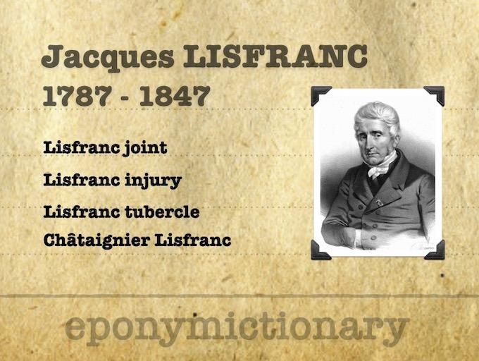 Jacques Lisfranc de St. Martin (1787 – 1847) 680