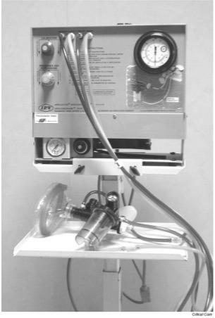 Bird Intrapulmonary Percussive Ventilation machine
