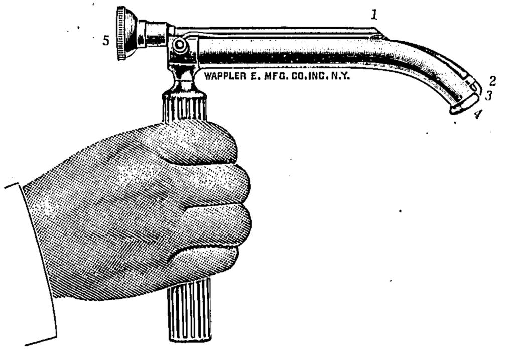 Janeway Laryngoscope for DL 1913 1