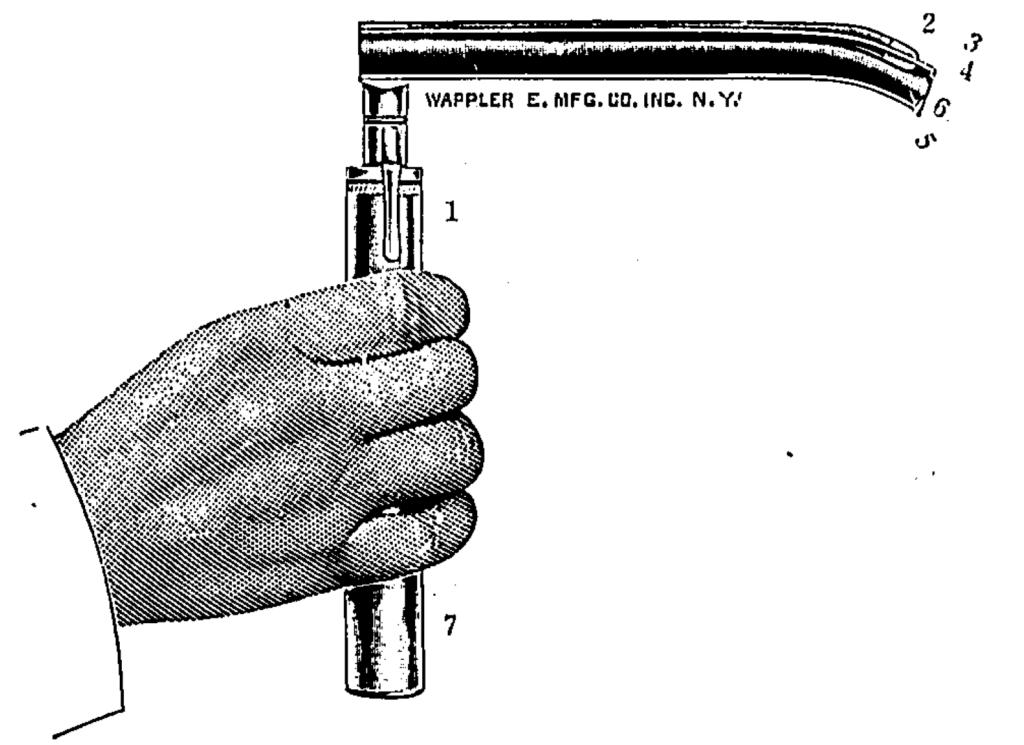 Janeway Laryngoscope for DL 1913 2